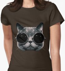 Meow Me-Yeahhhh... Womens Fitted T-Shirt