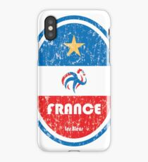 Football - France (Distressed) iPhone Case/Skin