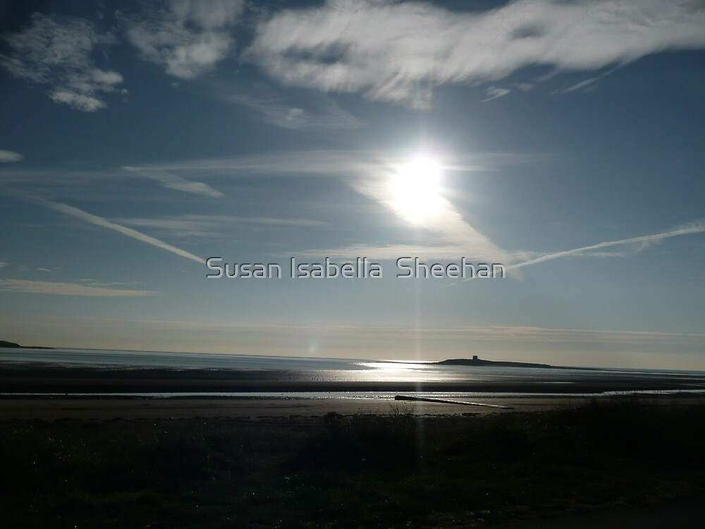 Reflections On The Irish Sea by Susan Isabella  Sheehan