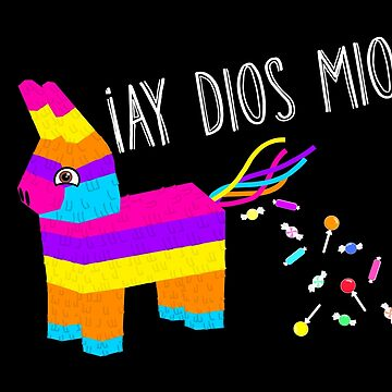 ¡Ay Dios Mio! Piñata Problems - Worried Burro Pinata has Candy Accident by prettyinink