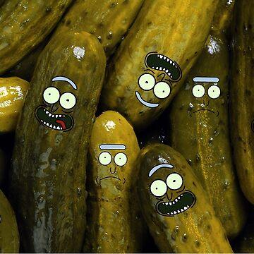 Bunch of Pickles by jomzojeda