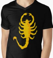 "Scorpion ""Drive"", 2c, Scorpio,  Men's V-Neck T-Shirt"