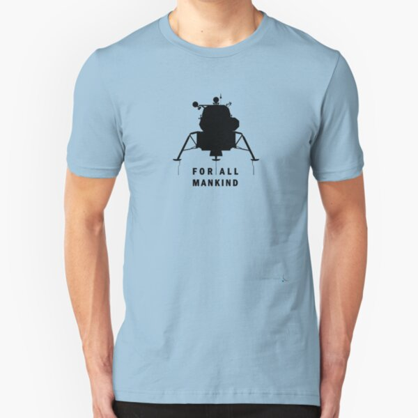 Apollo 11 - celebrate the 50th anniversary of moon landing | FOR ALL MANKIND Slim Fit T-Shirt