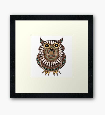 Owl - The Messenger  Framed Print