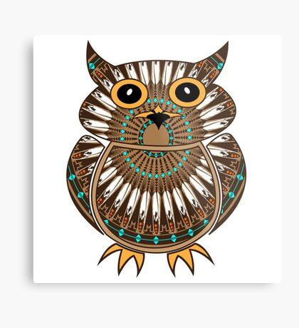 Owl - The Messenger  Metal Print