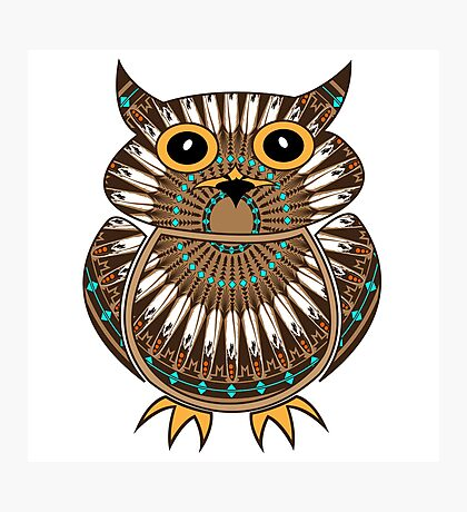 Owl - The Messenger  Photographic Print