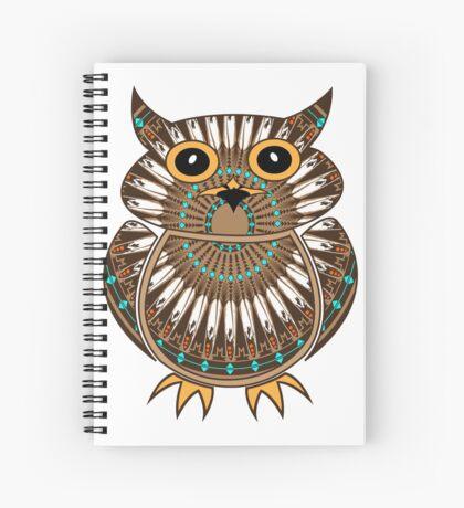 Owl - The Messenger  Spiral Notebook