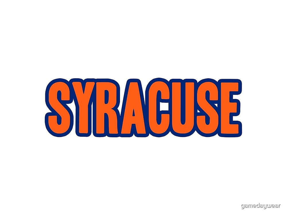 Syracuse  by gamedaywear