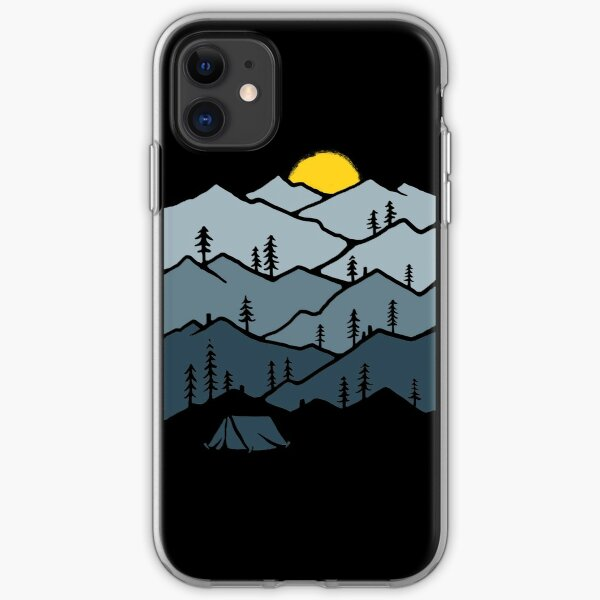 Camping iPhone Soft Case
