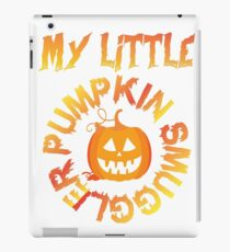 Pumpkin Smuggler iPad Case/Skin