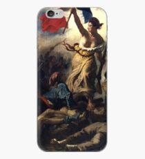 Liberty Leading the People 1830 Eugène Delacroix iPhone Case