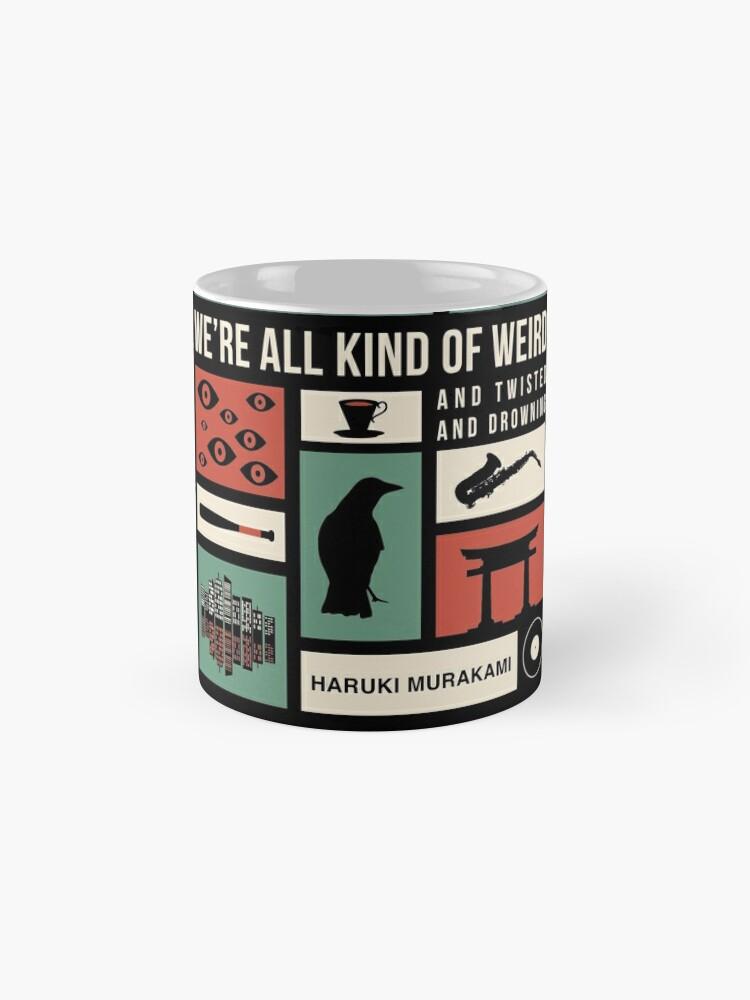 Alternate view of Haruki Murakami Mug