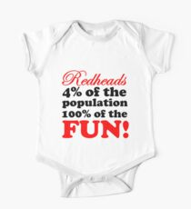REDHEADS ARE MORE FUN Kids Clothes