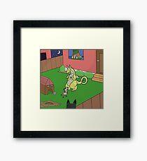 Thief Framed Print