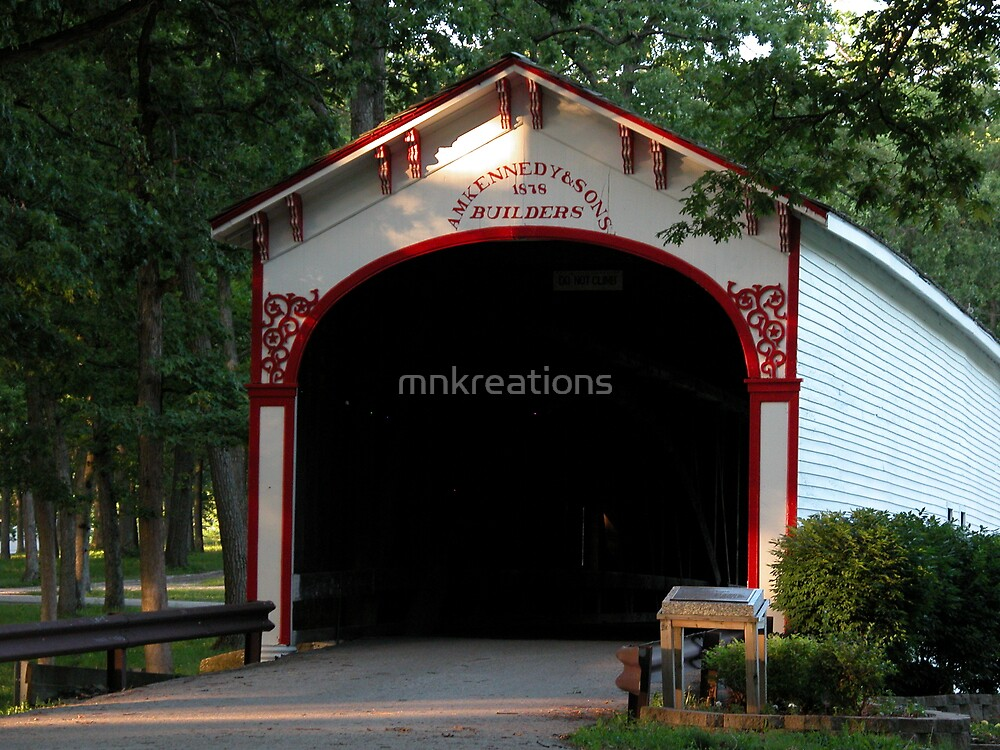Covered Bridge by mnkreations