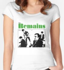 THE REMAINS 60S PUNK POWERPOP NUGGETS COOL T-SHIRT Women's Fitted Scoop T-Shirt