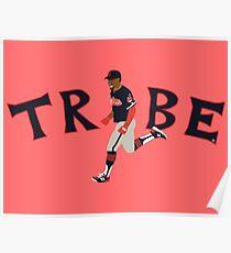 2017 Francisco Lindor Cleveland Indians Tribe Shirt Poster