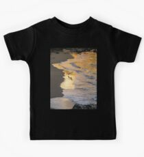 Magic Hour Golden Waves and Seagulls Kids Clothes