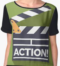 Action! Women's Chiffon Top