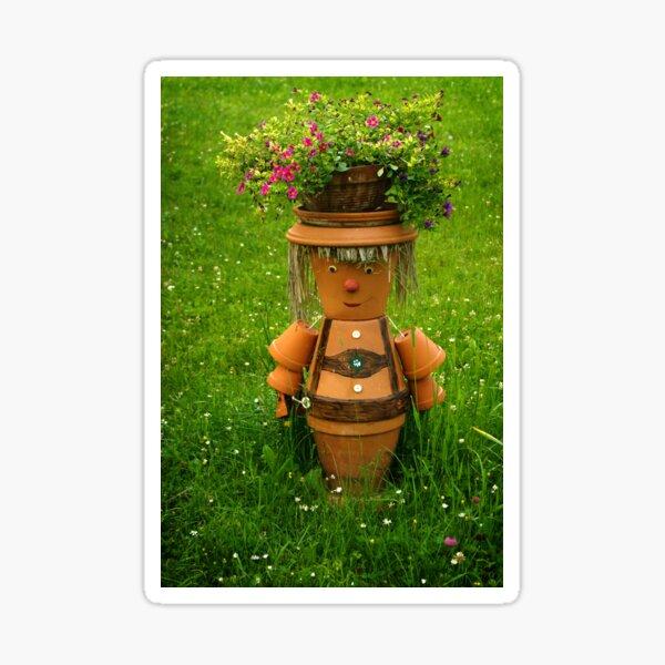 Tiroler happy gardener Sticker