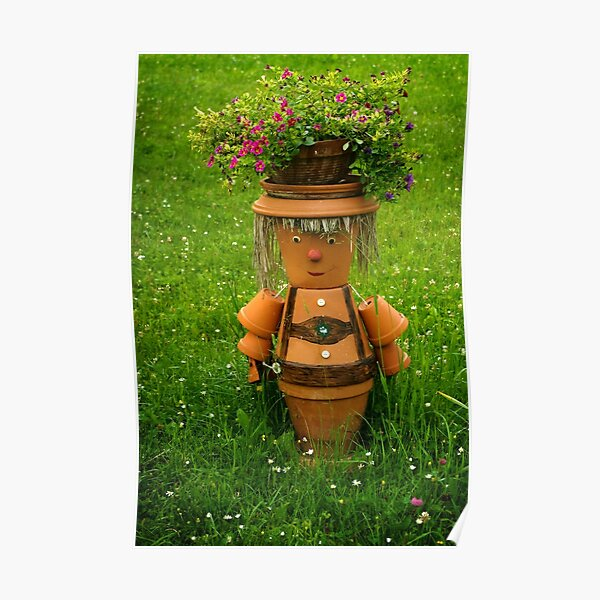 Tiroler happy gardener Poster