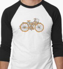 Steam Punk Cycling Men's Baseball ¾ T-Shirt