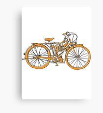Steam Punk Cycling Canvas Print