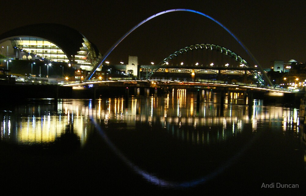 Reflections on the Tyne by Andi Duncan