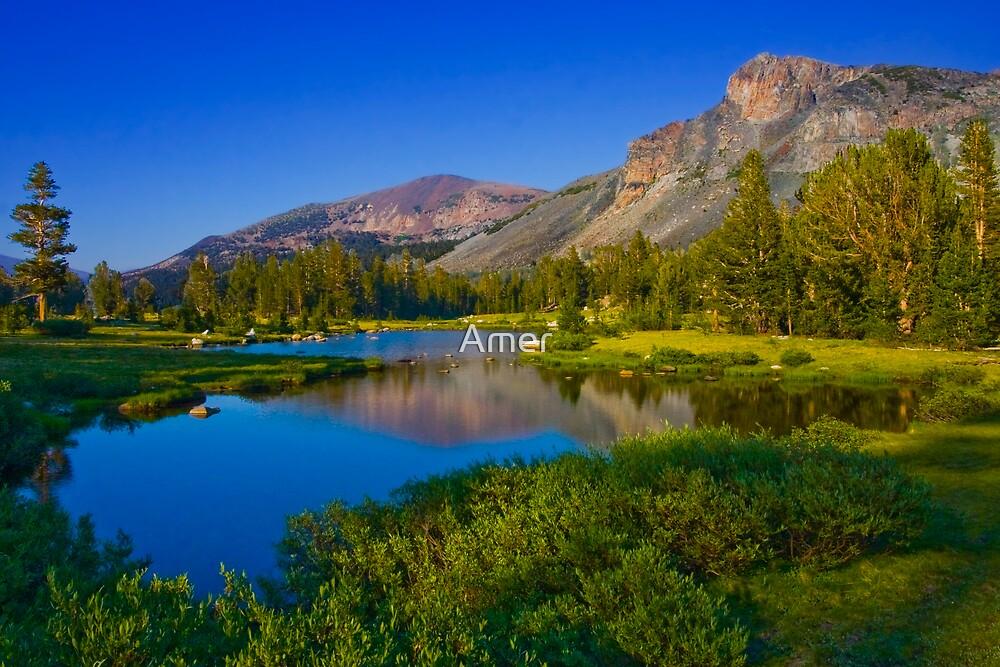 Yosemite Lakes by Amer