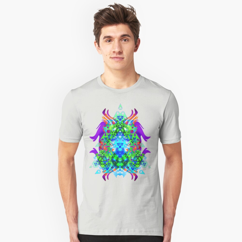 Psychedelic Trance inspired Unisex T-Shirt Front