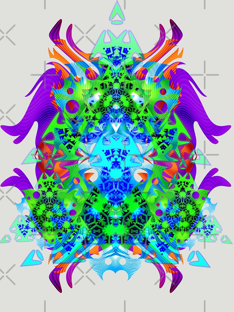 Psychedelic Trance inspired by webgrrl