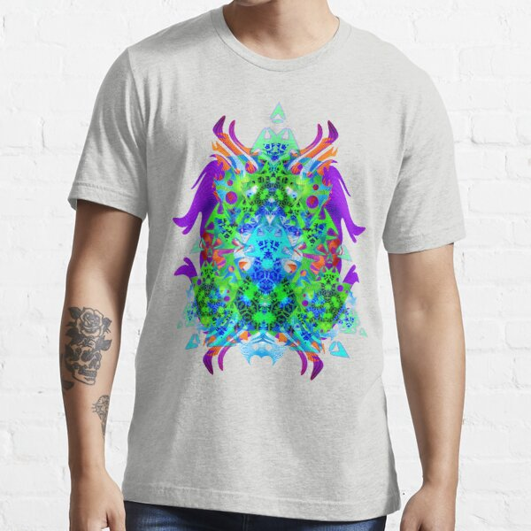 Psychedelic Trance inspired Essential T-Shirt