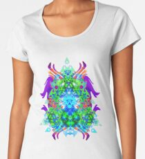 Psychedelic Trance inspired Women's Premium T-Shirt