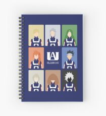 UA High Class 1-B Spiral Notebook