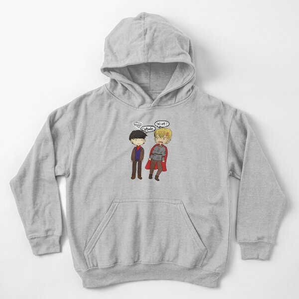 Merlin & Arthur Kids Pullover Hoodie