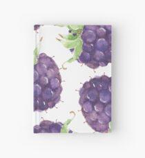 Patterns everyday | Purple Berries Hardcover Journal