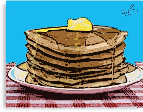 Pop Art Pancakes by Cindy Higby