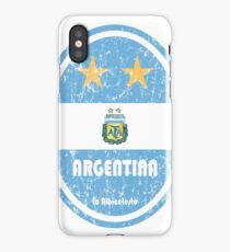 Football - Argentina (Distressed) iPhone Case/Skin