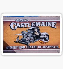 Castlemaine street rods Sticker