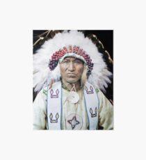 Walking Buffalo - 1910 Art Board