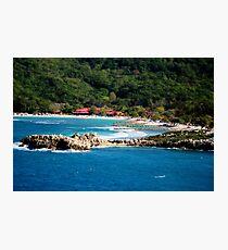 Adrenaline Beach Labadee Haiti Photographic Print