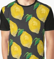 Lemon pattern Graphic T-Shirt