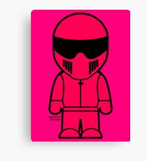 The Stig - Pink Stig Canvas Print