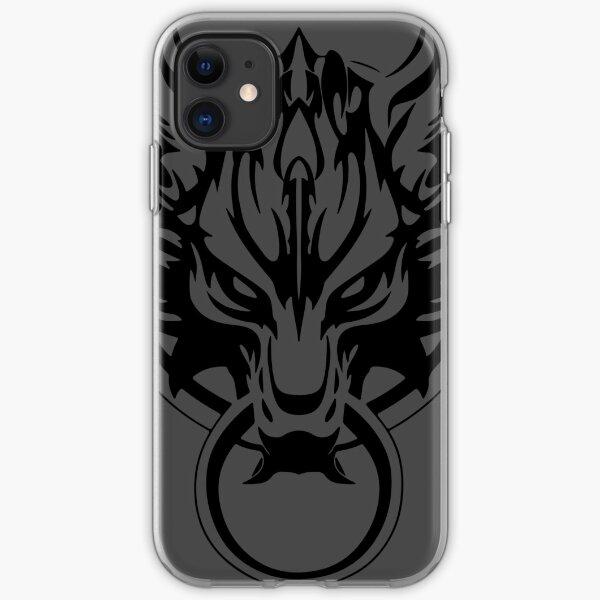 Final Fantasy Fenrir Wolf iPhone Soft Case