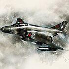 RAF Phantom FG1 Painting by Airpower Art