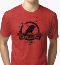 Bioshock Infinite - Murder of Crows Vigor shirt Tri-blend T-Shirt