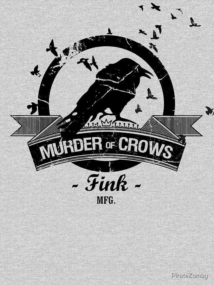 Bioshock Infinite - Murder of Crows Vigor shirt   Unisex T-Shirt