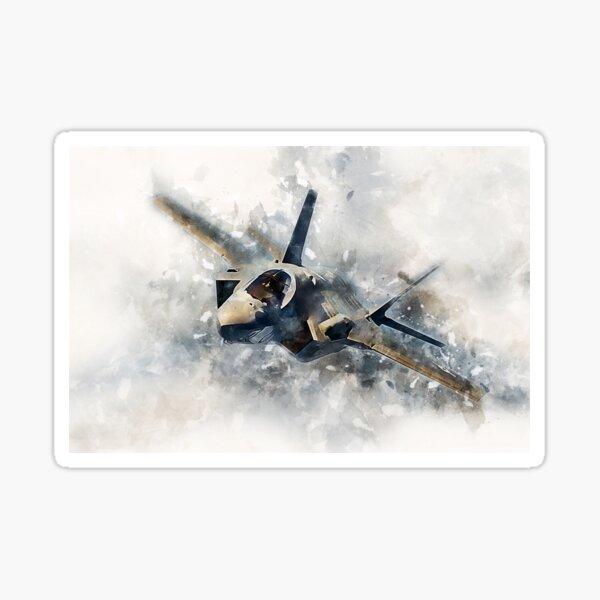 F35 Lightning II Painting Sticker