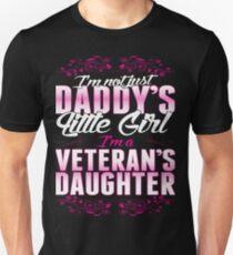 I'm A Veterans Daughter Not Just Daddy's Little Girl - Best Design Unisex T-Shirt