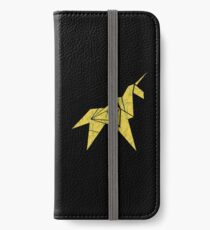 Blade Runner - Paper Unicorn iPhone Wallet/Case/Skin